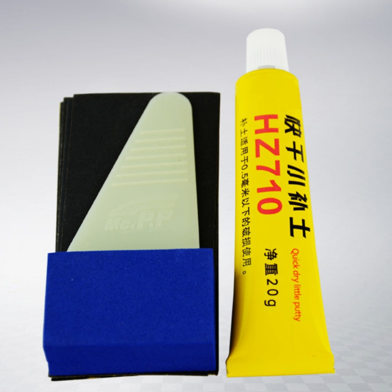 Car Paint Surface Scratch Fill Soil Deep Mark Filling Treatment Refinishing Pen Assistant Smooth Repair Tools