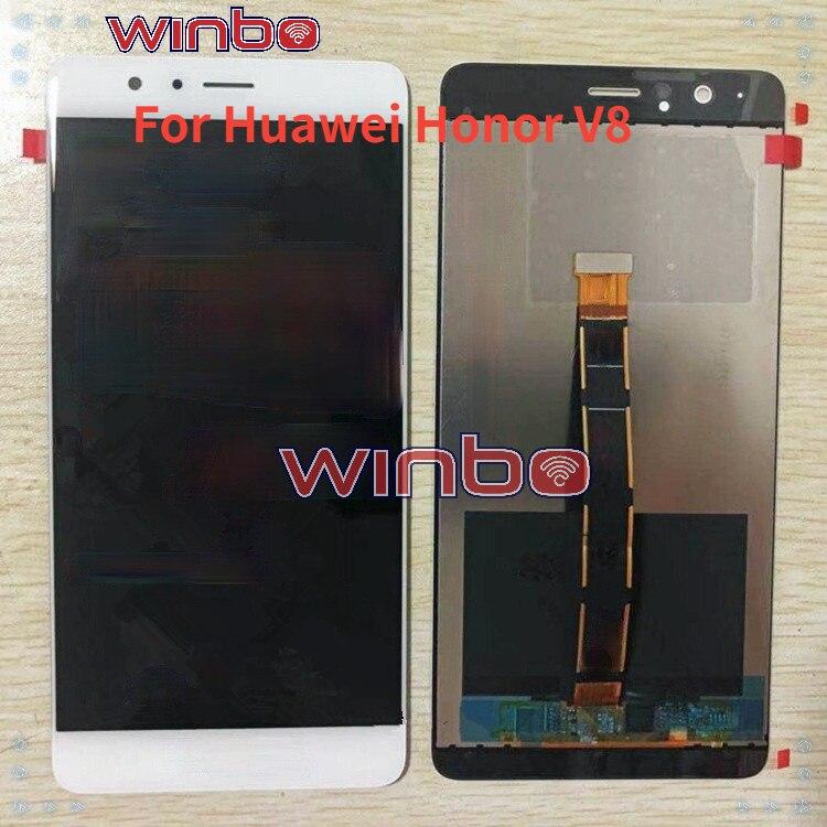 Для Huawei Honor V8 KNT-UL10 / AL10 / AL20 ЖК-экран внутри и снаружи экран в сборе