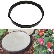 Garden Diy Round Plastic Mold Cement Brick Road Model Concre