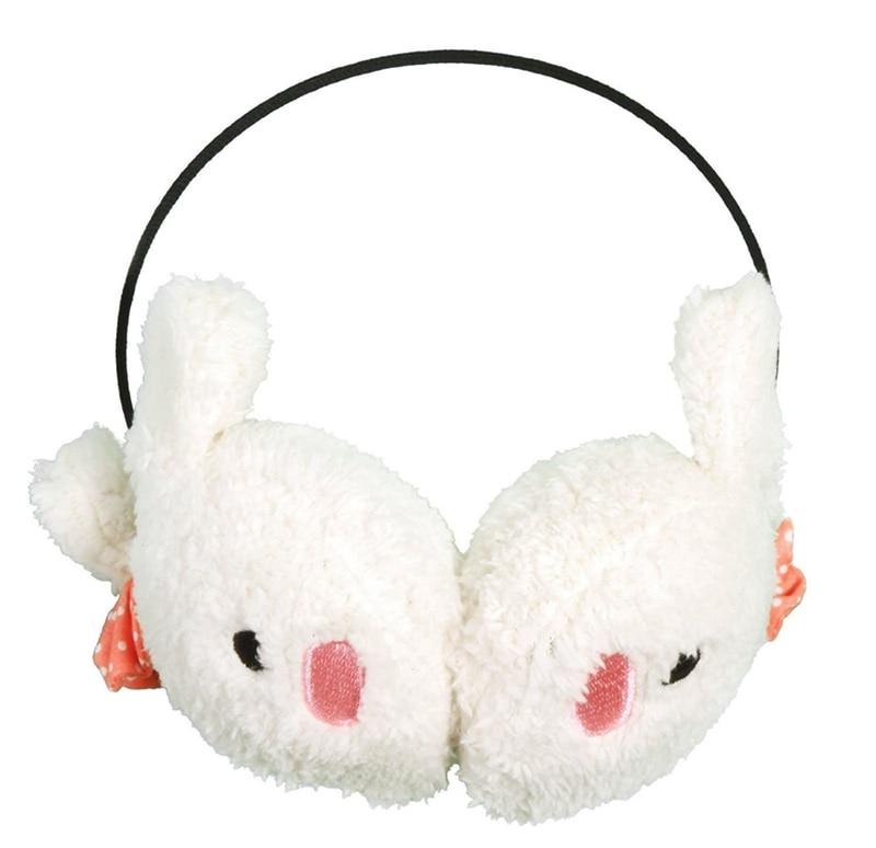 ABKT-Winter Cute Kawaii Bunny And Panda Earmuffs Ear Muff Warmer Various Colors