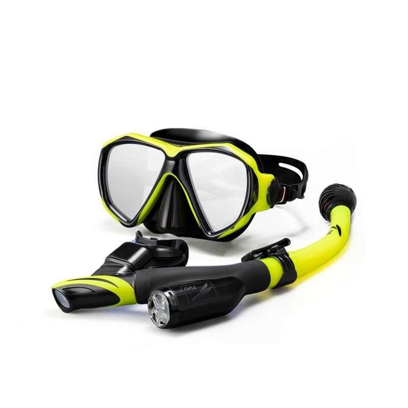 Masque de plongée de niveau professionnel lunettes de plongée Anti-buée + k masque de plongée unisexe masque de plongée de haute qualité