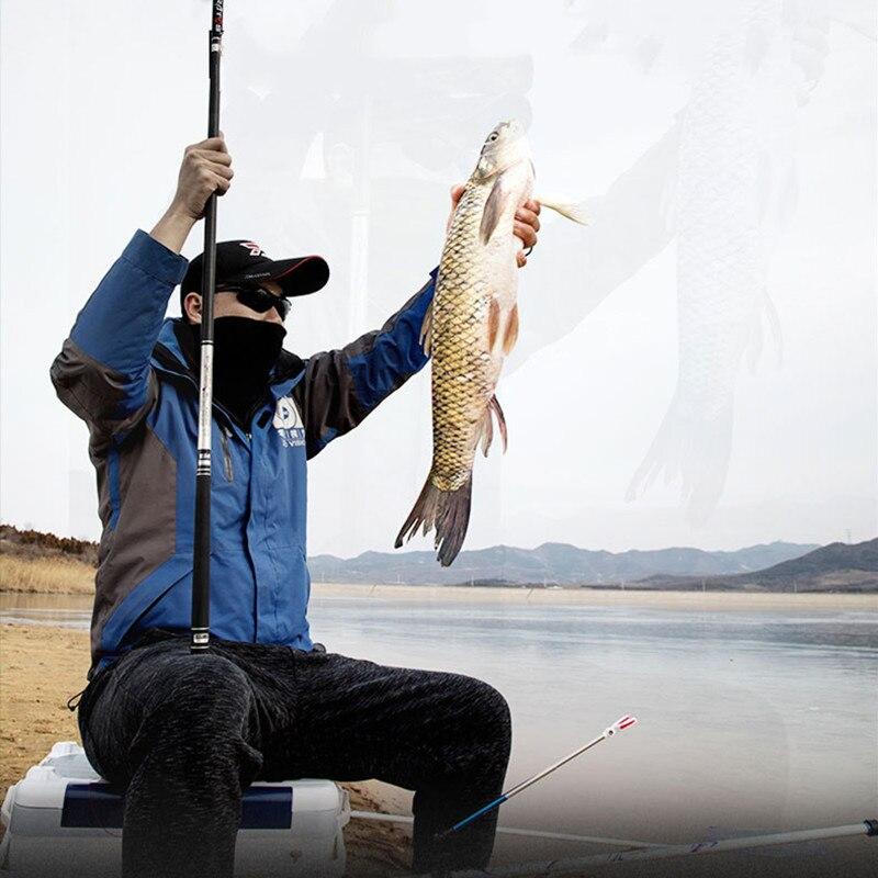 Vboni  High Carbon Super Hard Fishing Rod 3.6-7.2M Telescopic Rod Sea Fishing Rod  For Big Carp Fish