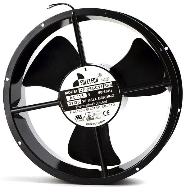 Original Imported UF-25GC11BWH/BTH Fuyou Circular AC115V Axial Flow Silent Cooling Fan