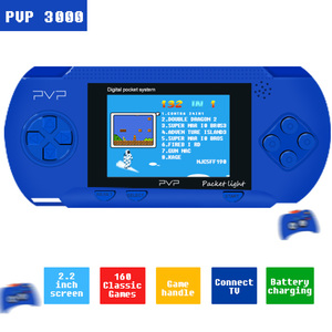 PVP 3000 Handheld Game Player Built-in 89 Games Portable Video 2.8'' LCD 8 bit games Family Mini Video Game Console(China)