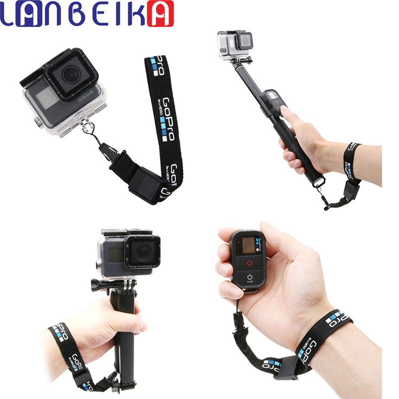 Nylon Adjustable Safety Wrist Strap String Hand Lanyard Rope Cord For GoPro Hero 7 6 5 SJCAM SJ4000 SJ5000 SJ6 SJ8 SJ9 DJI OSMO