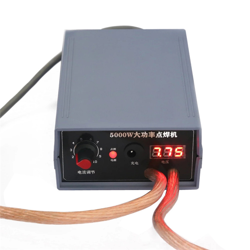 5000W Mini Spot Welder Kit DIY 18650 Battery Pack Welding Tools Portable Spot welding Pen For 0.1/0.15/0.2/0.25mm Nickel Strip