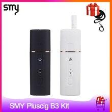 Original smy pluscig b3 aquecimento vara 1300 mah calor sem queimadura vaporizador para tabaco vs pluscig v10 gxg i2 kit