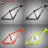 TWITTER MTB Frame 26/27.5er Mountain Bike Frame 15.5/16.5/17.5 Aluminum Alloy Straight Tube 44mm Frameset Bicycle accessories