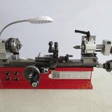 CE DIY Мини Настольный Токарный станок инструмент домашний лабораторный токарный станок 4 кулачковый патрон 65 мм