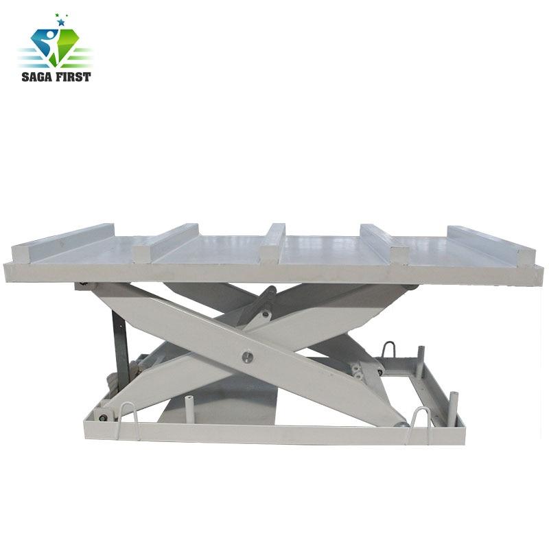 Warehouse Stationary Scissor Type Hydraulic Lifting Platform Scissor Lift Table