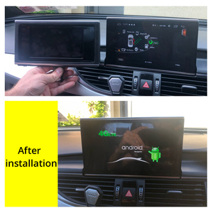 Image 2 - Kit multimídia automotivo para audi, audi a6, s6, c7, 4g, 2012 ~ 2016, 2017, 2018, mmi rmc, 4g, android rádio estéreo automotivo com navegação gps, tela sensível ao toque