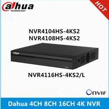 Dahua 4k nvr NVR4104HS-4KS2 4ch & NVR4108HS-4KS2 8ch & NVR4116HS-4KS2/l 16ch sem poe gravador de vídeo em rede