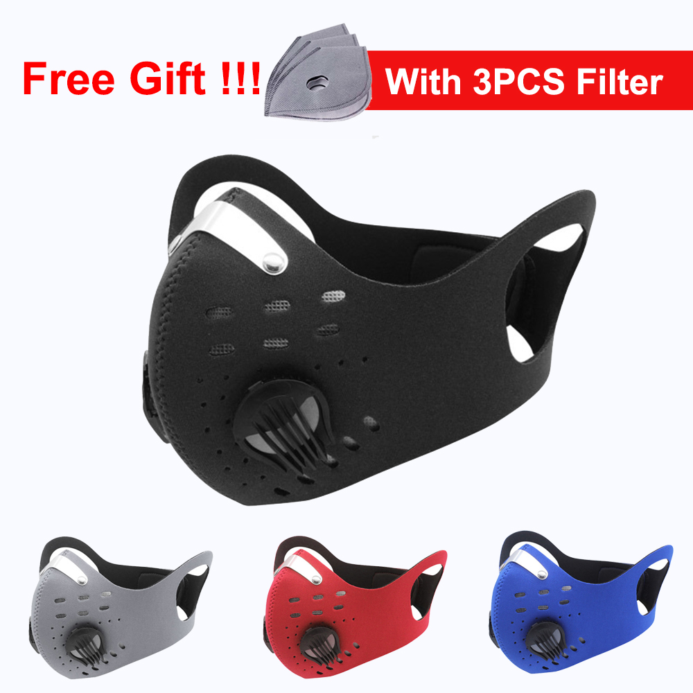 Face Mask With Filters Protective 5 Layers Masque Mascarillas Fpp2 Reusable Fpp3 Mask Nk95mask Outdoor Dust Mask Facemask
