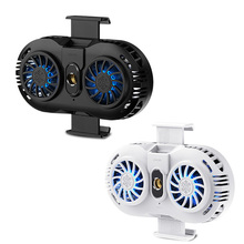 Double Fan Mobile Phone Cooler For Mobile Phones Game Phone Holder Stand Heat Sink Cooling Gamepad Controller