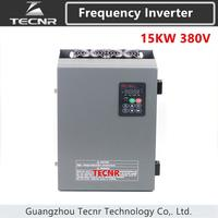3Phase 15KW 380V Input 32A Frequency Inverter Triphase 3 Phase Output VFD Frequency Converter Motor Speed Controller 50/60Hz