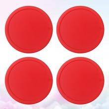 Air-Suspension-Accessories Air-Hockey-Pushers Pucks Mini Red 4pcs 75mm Table Sport-Too