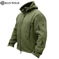 Мужские военные походные куртки, термостойкая флисовая куртка с капюшоном, тактическая куртка, уличная спортивная куртка, милитари софтшел...