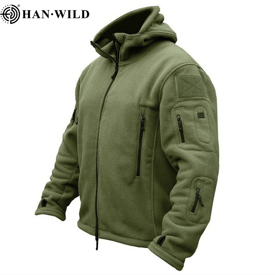 Men Military Hiking Jackets Thermal Hooded Fleece Jacket Tactical Jacket Outdoors Sports Coat Militar Softshell Army Jackets
