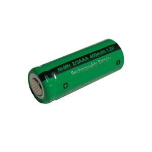 Image 3 - 10 sztuk 2/3 aaa bateria 400 mah 1.2 v nimh 2 3 akumulatory aaa płaskie góry na światło słoneczne zabawki