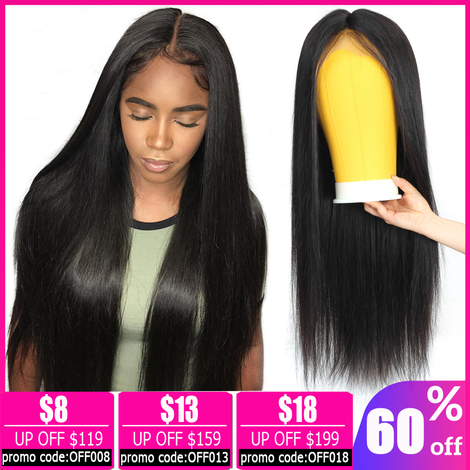 13x4 Straight Lace Front Wig Brazilian Wig Short Lace Front Human Hair Wigs For Women Pixie Cut Wig Bob Lace Front Wigs Non-Remy