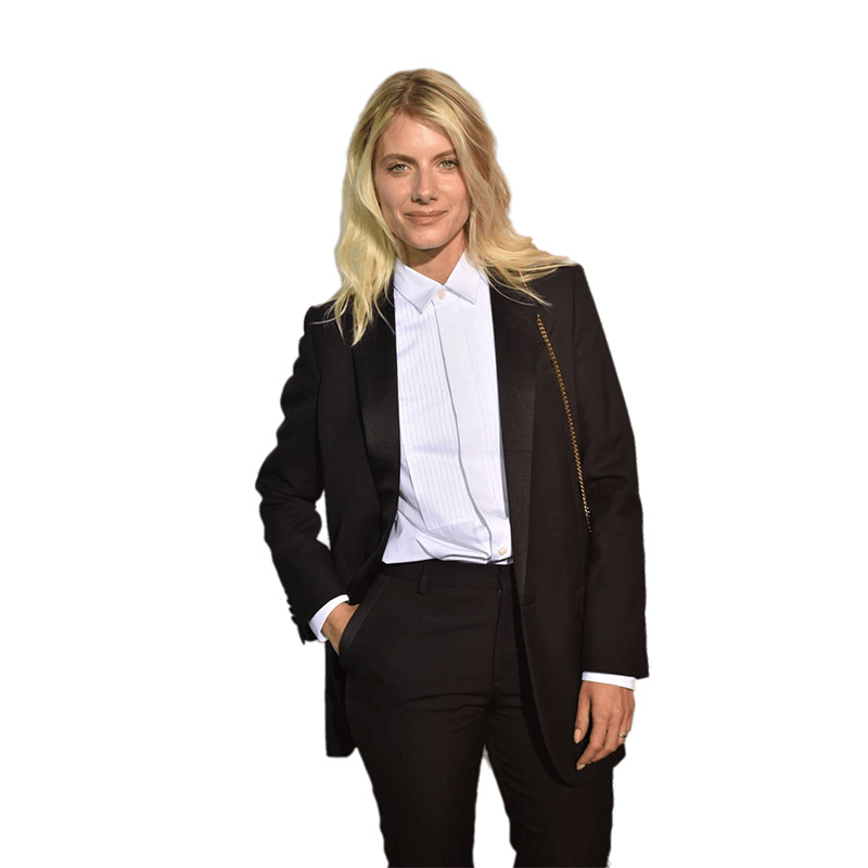 Autumn Black Formal Elegant Womens Business Suit Set Blazers And Pants Office Suits Ladies Pants Suits Trouser Suits