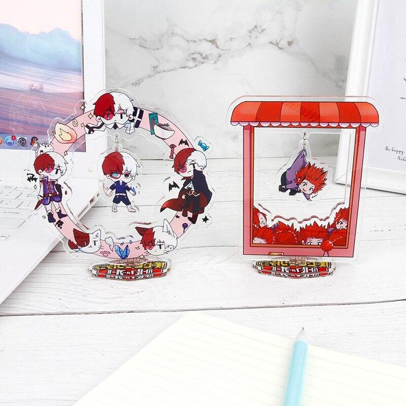 Anime My Hero Academia Midoriya Izuku All.Might Acrylic Stand Figure Model Anime Desktop Stationery Decoration