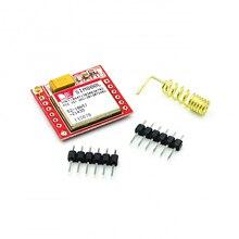 10 개/몫 가장 작은 SIM800L GPRS GSM 모듈 MicroSIM 카드 코어 보드 쿼드 밴드 TTL 직렬 포트