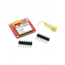10 pçs/lote menor sim800l gprs gsm módulo placa de núcleo cartão microsim quad band ttl porta serial