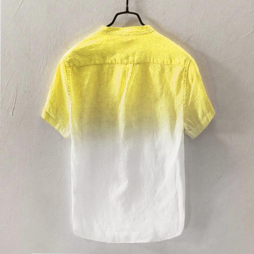 Camisa dos homens verão 2020 novos homens