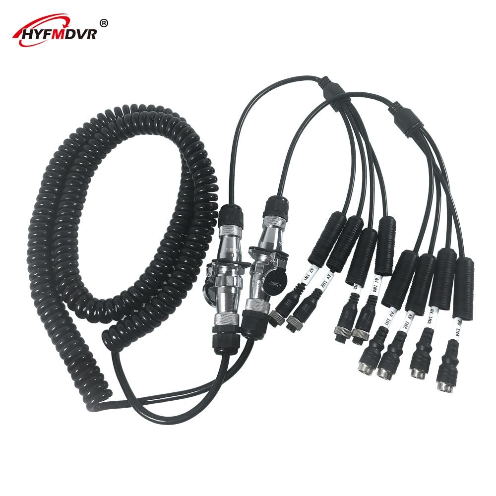 HYFMDVR audio et vidéo alimentation CNC câble spiralé câble hélicoïdal rétractable câble à ressort fil enroulé fabricants de câbles en gros