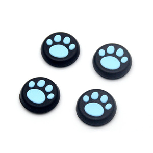 Image 3 - 2pcs/lot Silicone ThumbStick Grips Caps Gamepad Joystick Button Cover Case for Sony PS4 /PS3 for XBOX One 360 Controller