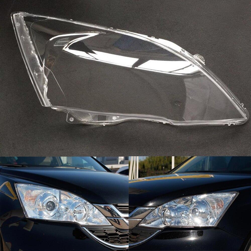Car Headlight Lens For Honda CRV 2007 2008 2009 2010 2011 Headlamp Lens Car  Replacement  Lens Auto Shell Cover