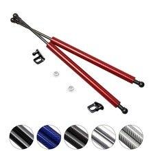 Для Nissan X-Trail T30 2000-2007 передний капот из углеродного волокна модифицированные газовые стойки амортизатор подъемник Поддержка автомобиля-Стайлинг амортизатор