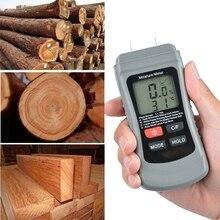 Digital Wood Moisture Meter Wood Humidity Tester Timber Damp Detector LCD Displa Dropshipping