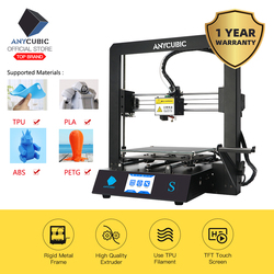 ANYCUBIC Mega S 3D Drucker I3 Mega Upgrade DIY Voller Metall rahmen Impresora TFT Touchscreen Hohe Präzision 3d drucker extruder