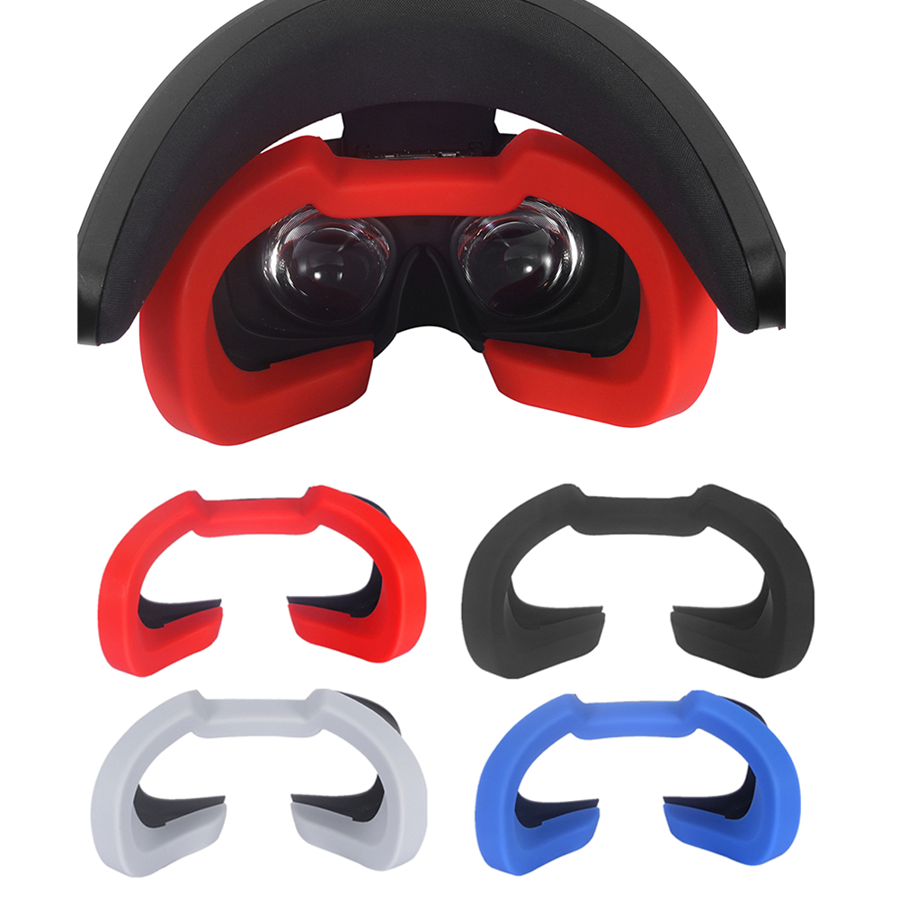 Soft Silicone Eye Mask Cover Pad For Oculus Rift S VR Headset Breathable Light Blocking Eye Cover Accessories