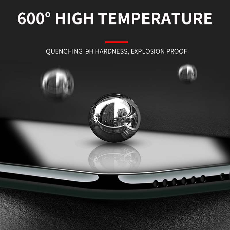 iHaitun Luxury 6D Glass For iPhone 11 Pro Max Screen Protector Curved Tempered Glass For iPhone XS MAX XR X 10 7 Plus Cover Film