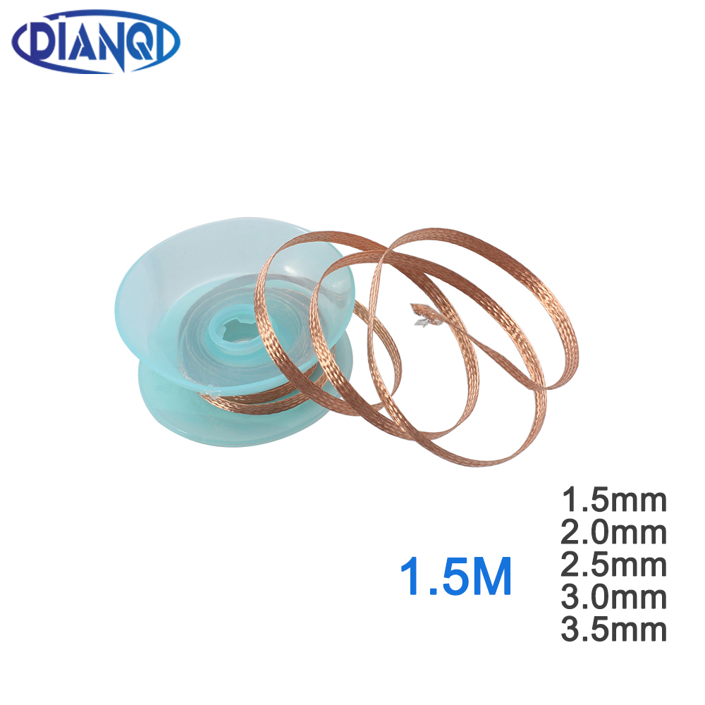 1PC 3.5mm 1.5M Desoldering Braid Solder Remover Removal Wick Wire Repair Tool S2