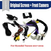For Hyundai Tucson 2017 2018 2019 Car Front View camera System Parking CANBUS Connect Original Screen AUTO Reverse CAM Decoder