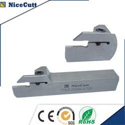 Seria TTER2525 tokarka CNC do wkładki Solt TDC darmowa wysyłka frez do rowków Solt prawa ręka ładne narzędzie cutt