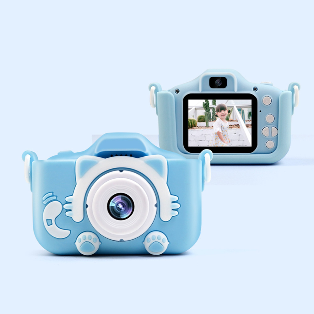 2.0 Inch Screen Mini Digital Kids Camera 12MP Photo Children Camera With 2000W HD Pixel Toys Gift Puzzl Games  Birthday Games