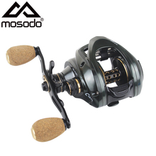 Mosodo Baitcasting Reel 6.3:1 Fishing Reel Left Right Hand High Speed 12KG Max Drag 13+1 Carbon Fiber Bait Casting Fishing Reels