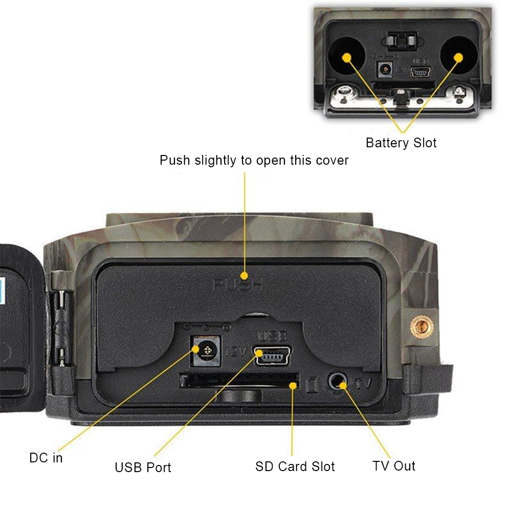 lcd trail camera com mms gprs smtp ftp gsm trail caca jogo 05