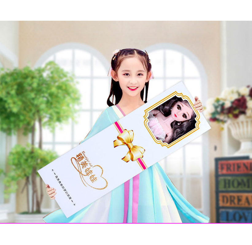 20 Joints Oversized Doll Gift Box Set Girl Princess Single Simulation Wedding Children's Toys