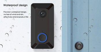 цена на V6 Wireless Wifi Remote Smart Doorbell Ring Camera Door Bell Ding Dong Machine Video Camera Phone Intercom