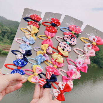 baby Ribbon Flower Hairpins Kids Hair Clips for girls Pin Barrettes Accessories Children Hair Ornament Hairclip Headdress mini hat lace flower kids girls hair clips barrette style accessories for children hair hairclip ornaments hairpins head gifts
