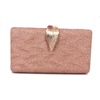 Sardines Clutch Small Leaf Switch Evening Dress Bag Party Party Bag A210