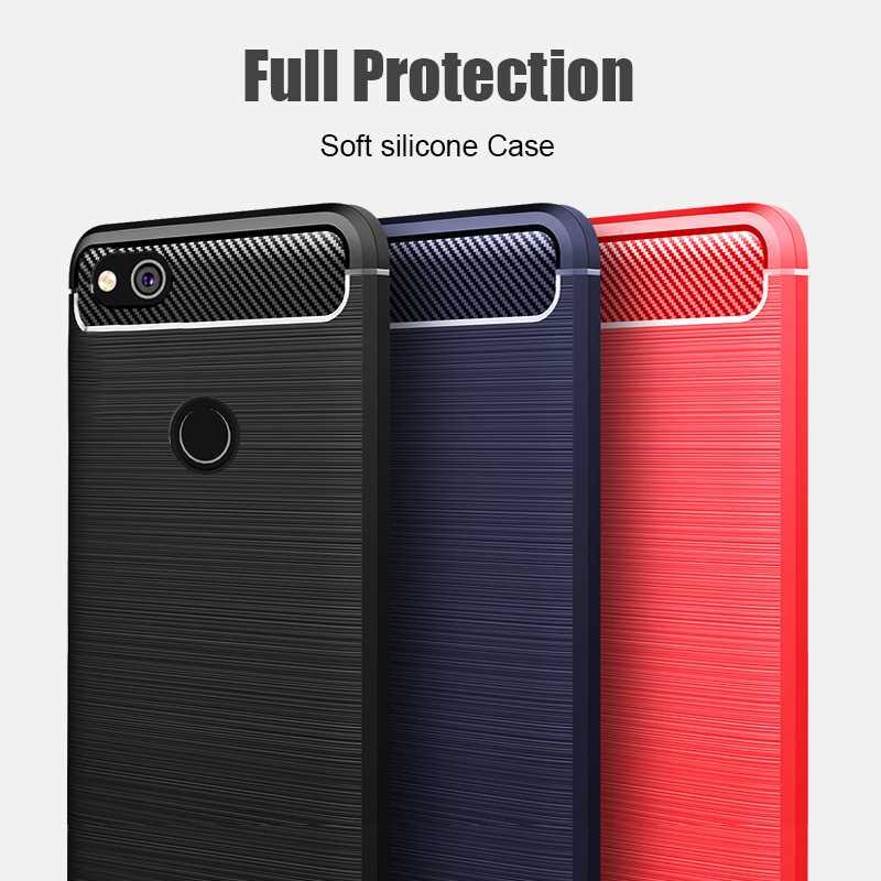 Custodia morbida antiurto per Cover per telefono Huawei P8 Lite 2017