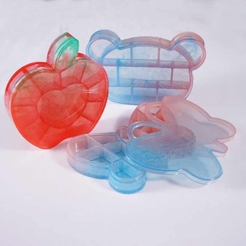 Trinket Box Silicone Mold Butterfly Bear Dish Tray Kawaii Epoxy Resin Supplies