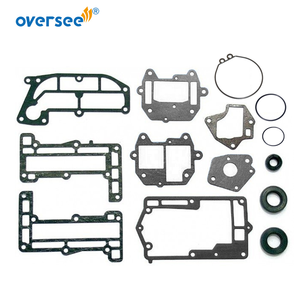 6G1-W0001 Lower Casing Gasket Kit For Yamaha Outboard Parts 2T 6HP 8HP 6C 8C 6G1-W0001-21 6G1-W0001-C1  6G1-W0001-02